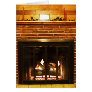 Christmas by the Fire Cards