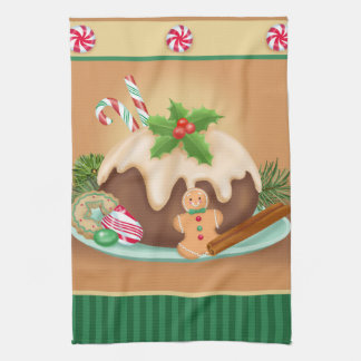 Christmas Cake Kitchen Towel