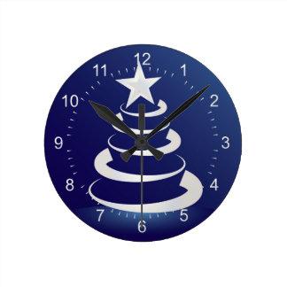 Christmas cake round clock