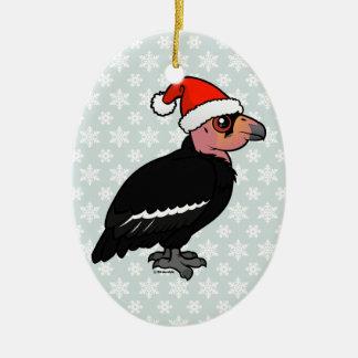 Christmas California Condor Ceramic Ornament