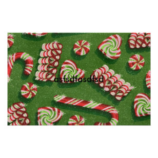 christmas candies customized stationery