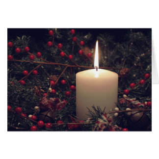 Christmas Candle 4 2014 Card #2
