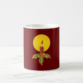 Christmas candle christmas candle coffee mug