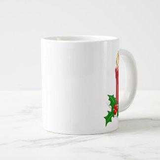 Christmas Candle Jumbo Mug