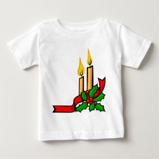 Christmas Candles Baby T-Shirt