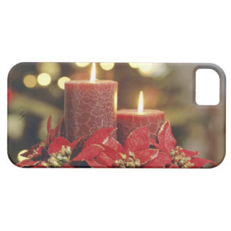 Christmas candles case for the iPhone 5