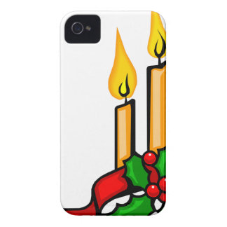 Christmas Candles Case-Mate iPhone 4 Cases