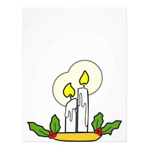 Christmas Candles Personalized Flyer