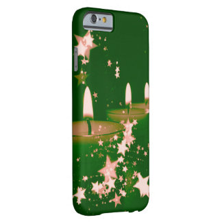 christmas candles  green iPhone 6 case