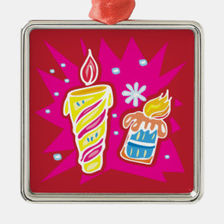 Christmas Candles Ornament