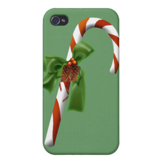Christmas Candy Cane  iPhone 4 Covers