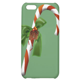 Christmas Candy Cane  Cover For iPhone 5C