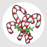 Christmas Candy Cane Sticker