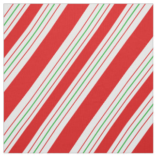 Christmas Candy Cane Stripes ID259 Fabric
