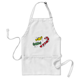 Christmas Candy Standard Apron