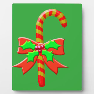 Christmas cane plaque