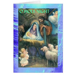 Christmas Card - 8 of 9 - Victorian Nativity
