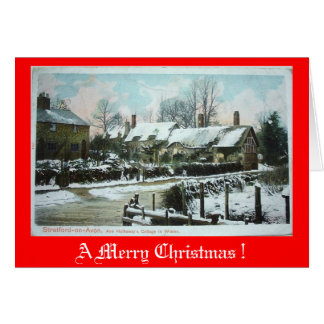 Christmas Card - Anne Hathaway's Cottage