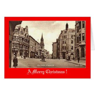 Christmas Card, Carfax, Oxford Card
