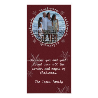 Christmas Card *Celebrate* Picture Card