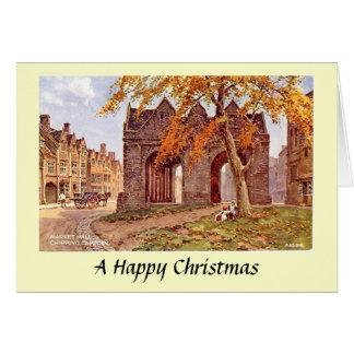 Christmas Card - Chipping Campden, Glos