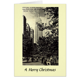 Christmas Card - Empire State Building
