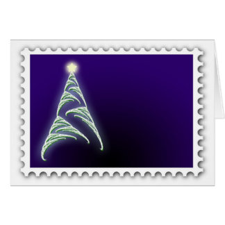 Christmas Card for a stamp collector