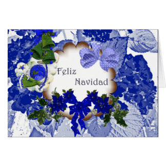 Christmas card for congratulation