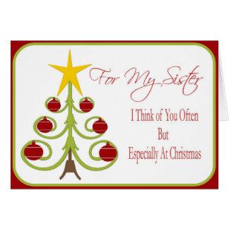 Christmas Card for Sister