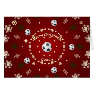Christmas Card For Soccer Coach