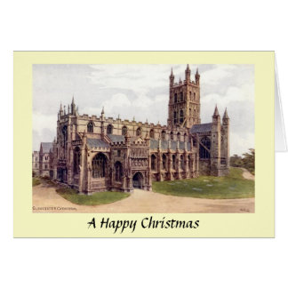 Christmas Card - Gloucester Cathedral