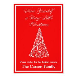 Christmas Card - Holiday Card 13 Cm X 18 Cm Invitation Card