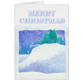 Christmas Card Marvel by Susan M. Edgerton
