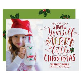 Christmas Card - Merry Little Christmas