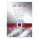 Christmas Card Photo Santa Belt Glitter