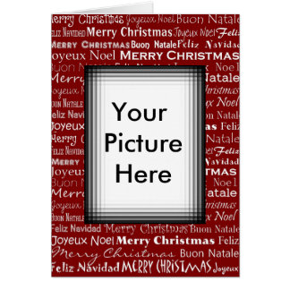 Christmas Card Picture Frame