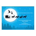 Christmas Card Pregnancy 4x6 Announcement - Coming 11 Cm X 16 Cm Invitation Card