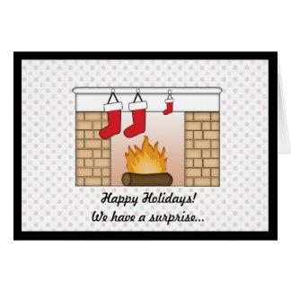 Christmas Card Pregnancy Announcement