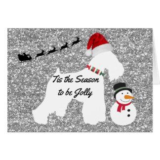 Christmas Card (Schnauzer)