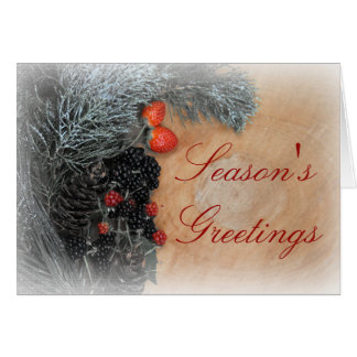 "Christmas card standard 5"" x 7"" include envelopes"