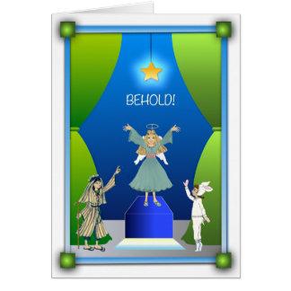 Christmas Card: The Christmas Pageant Card