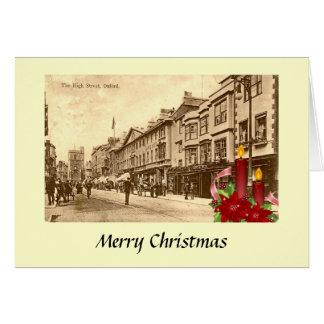 Christmas Card - The High Street, Oxford