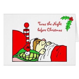 Christmas Card Twas the Night...
