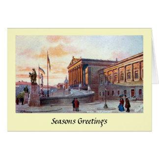Christmas Card - Vienna, Austria