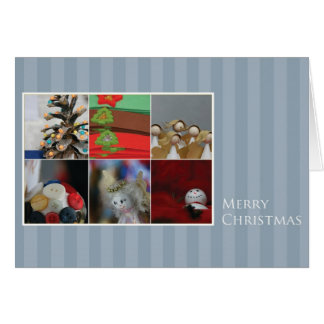 Christmas Card with Photo Collage