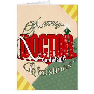 CHRISTMAS CARDIOLOGIST DOCTOR CARD