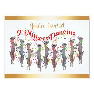 Christmas Caroling Invitation