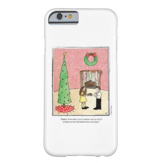CHRISTMAS cartoon by Ellen Elliott Barely There iPhone 6 Case