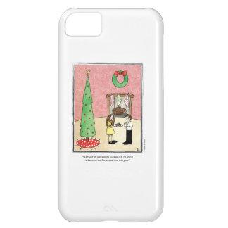 CHRISTMAS cartoon by Ellen Elliott iPhone 5C Case