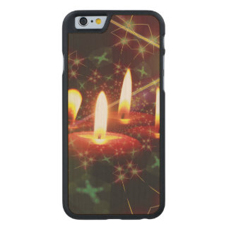 Christmas Carved® Maple iPhone 6 Case